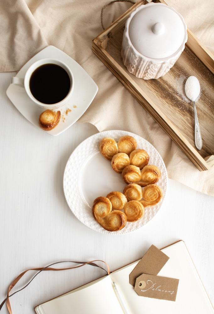 Palmiers - łatwe ciasteczka francuskie (2 składniki)