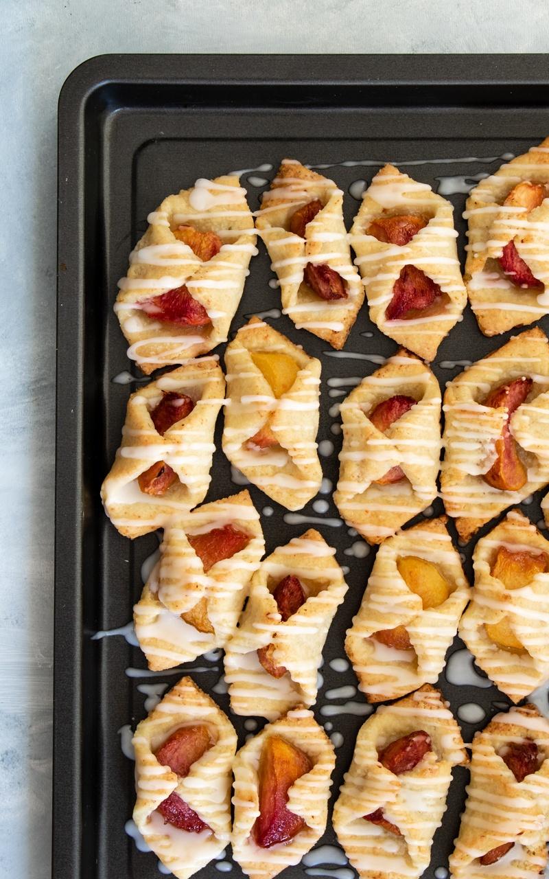 ciasteczka z brzoskwiniami (4 składniki)