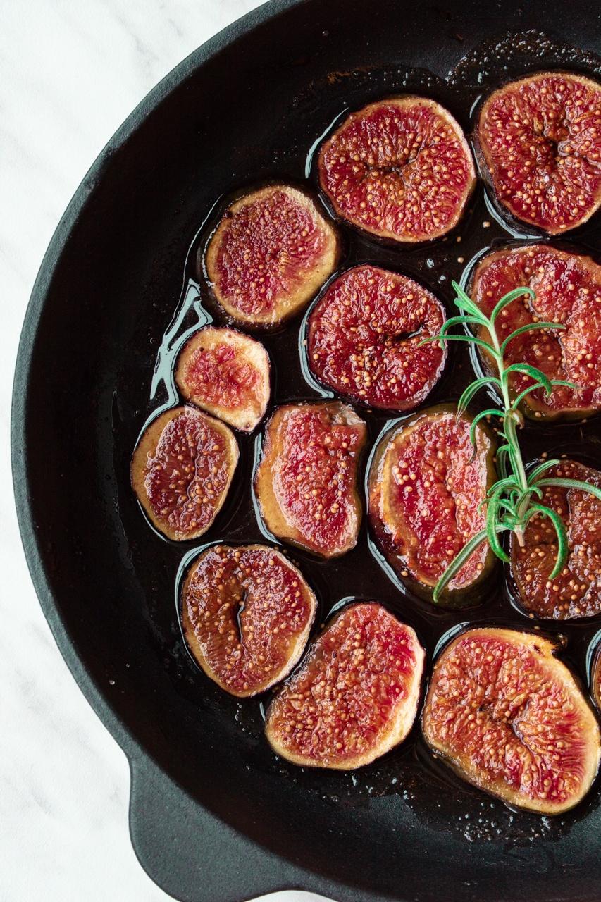 najprostsze karmelizowane figi (2 składniki)