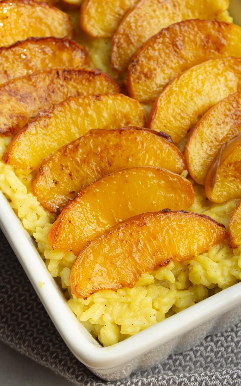Złoty ryż z brzoskwiniowy (4 składniki)