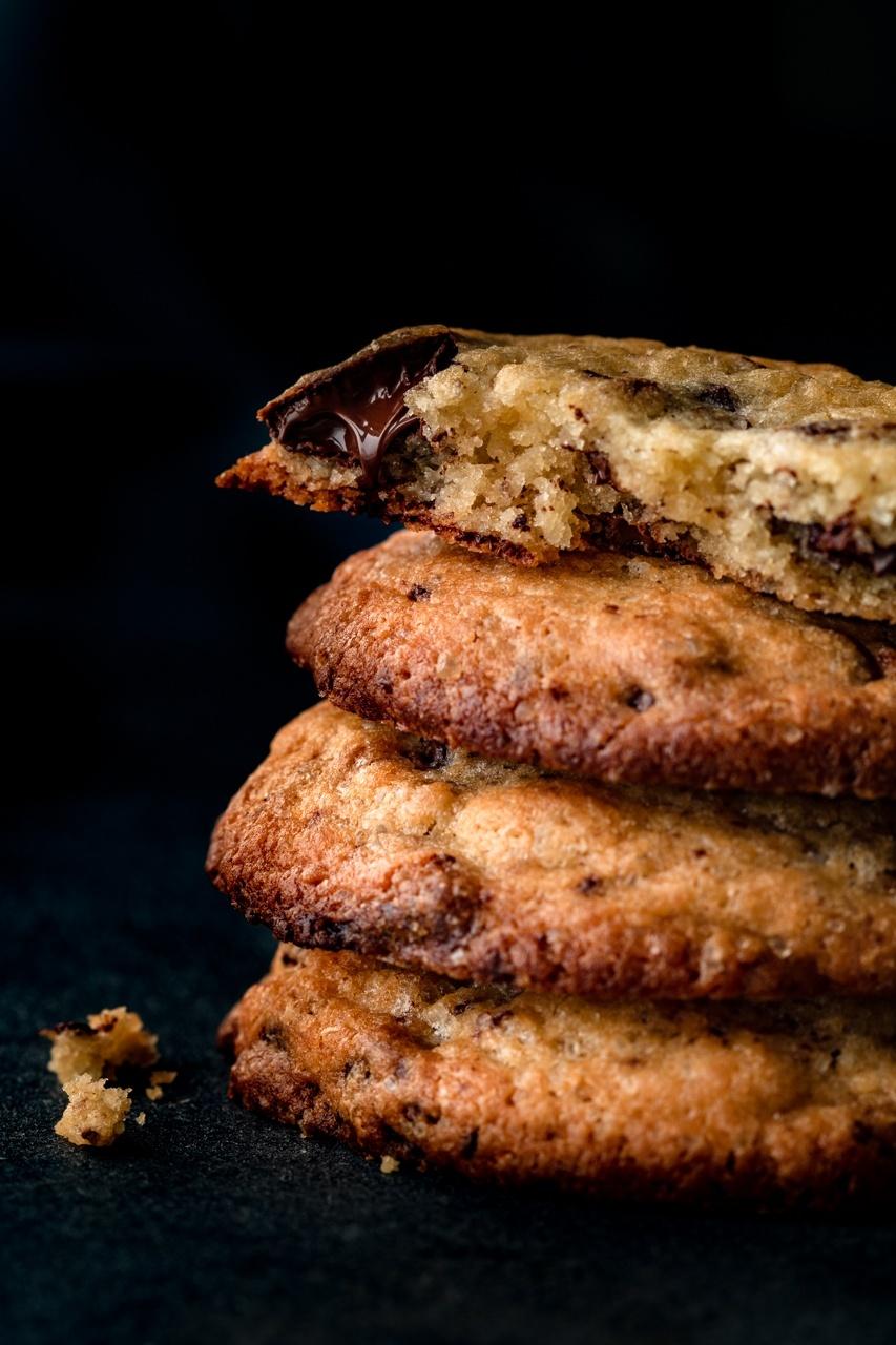 Ciasteczka z kawałkami czekolady (7 składników)