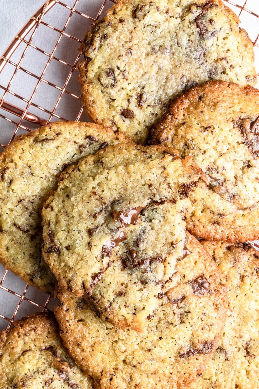 Ciasteczka z płynną czekoladą (7 składników)