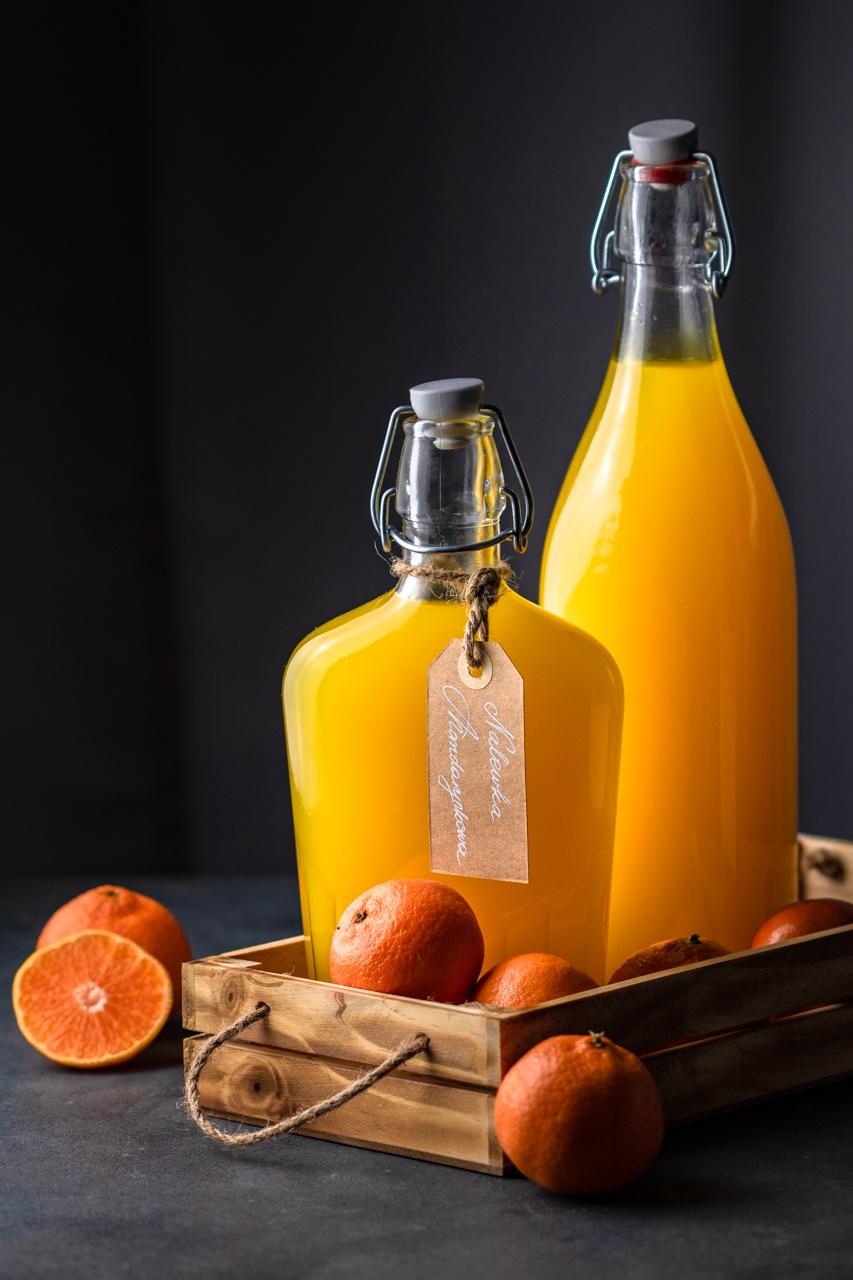 Nalewka mandarynkowa (3 składniki)