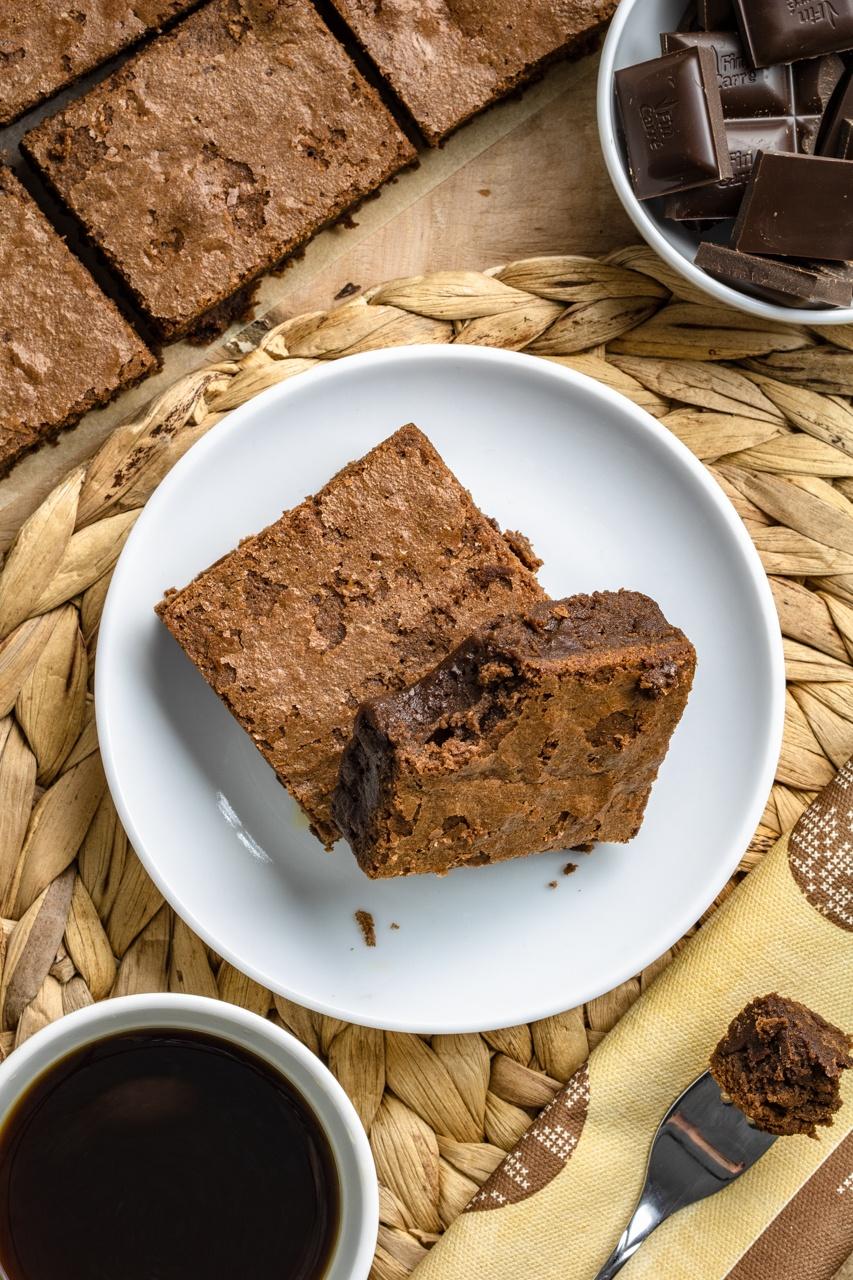 Najlepsze brownie (5 składników)