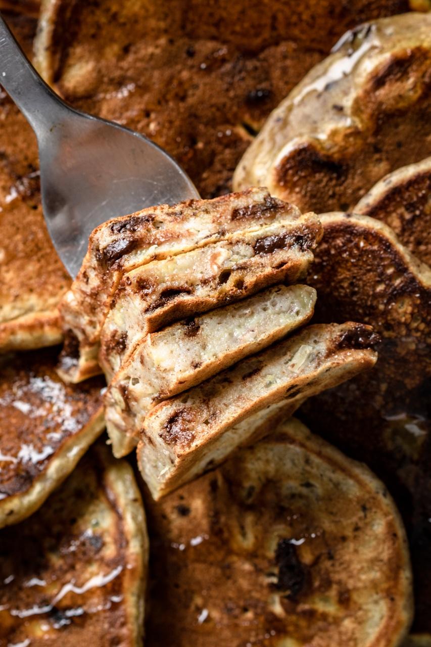 Placki a'la chlebek bananowy (5 składników)