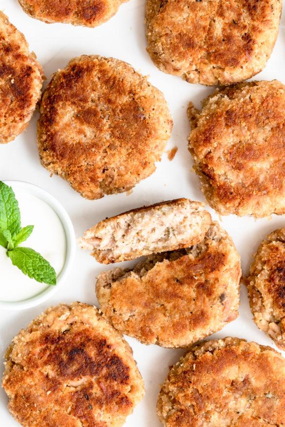Kotleciki z tuńczyka (4 składniki)