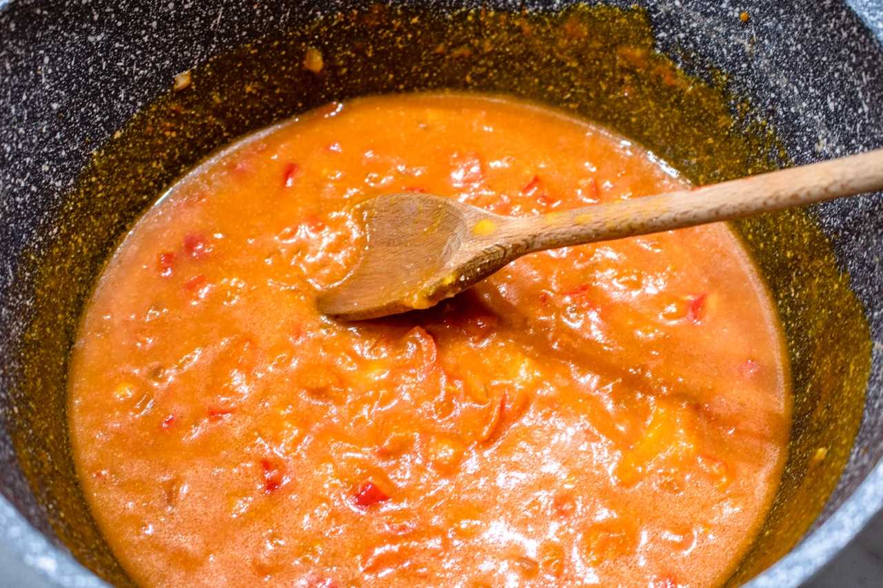 Wege chili w sosie dyniowym (6 składników)