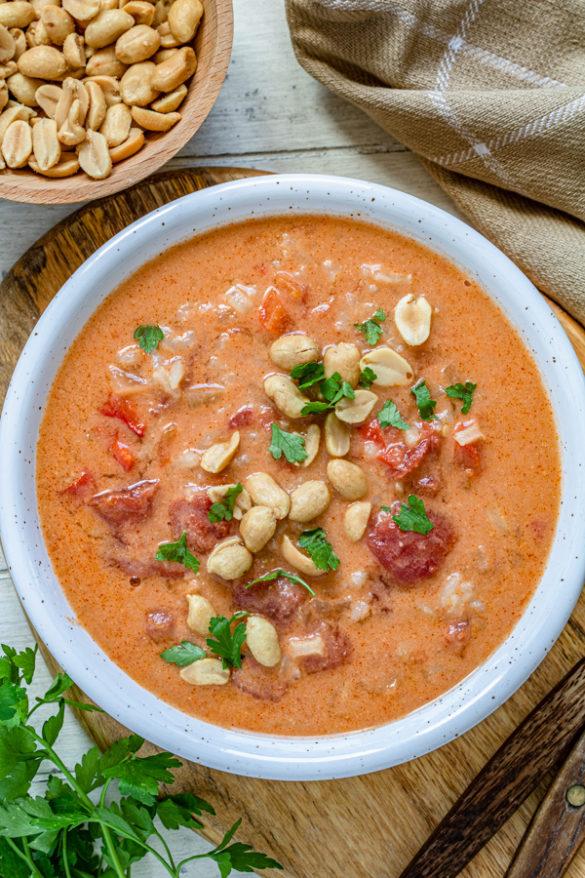 Afrykańska zupa orzechowa (7 składników)