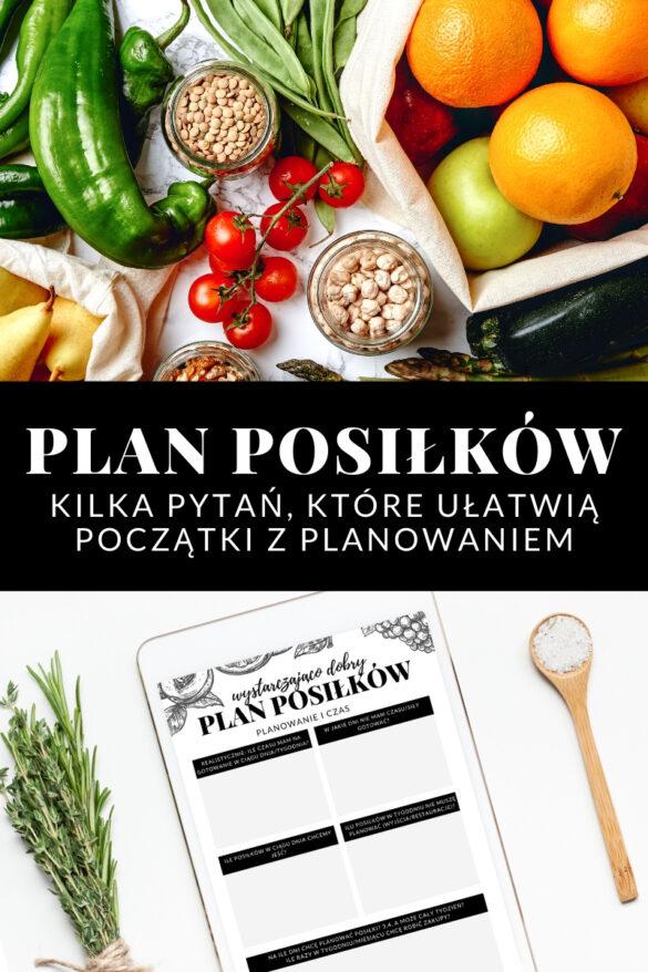 Wystarczająco Dobry Plan Posiłków