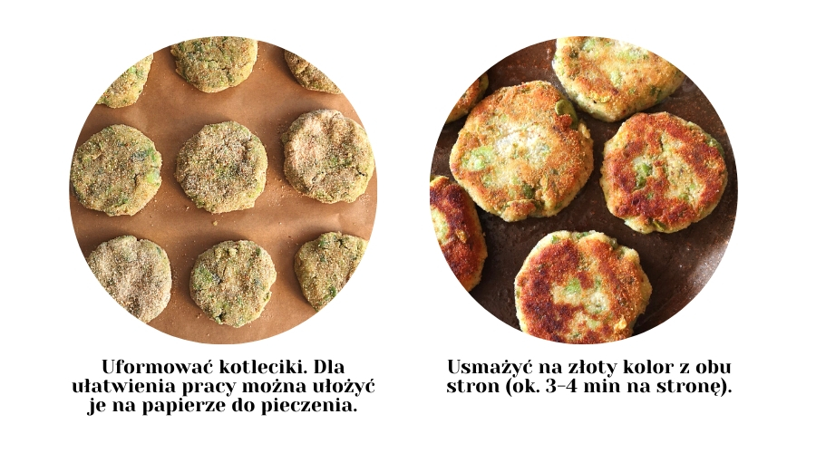 Kotlety z bobu i ziemniaków (4 składniki)
